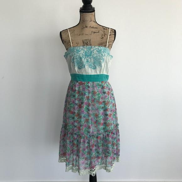 58e12ae9830 Flying Tomato Dresses   Skirts - Flying Tomato Floral Sleeveless Dress Size  Large